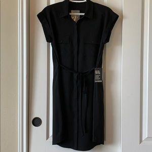 👓NWT Cute Express black short sleeve dress SM👓